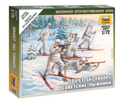 1:72: Soviet Skiers
