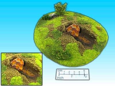 Geländestück Meteor