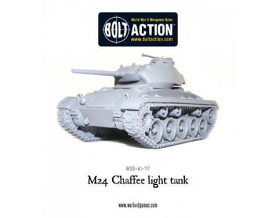 M24 Chaffee, US light tank