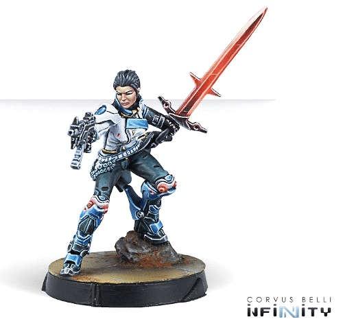 Shona Carano, Aristeia! Swordmaster (Submachine Gun) (O12)
