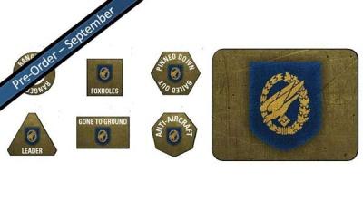 Fallschirmjager Tokens (20) & Objectives (2)