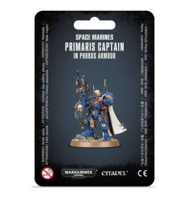 Space Marines PrimarisCaptain in Phobos Armour