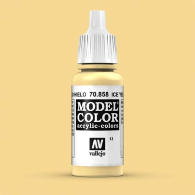 Model Color 013 Eisgelb (Ice Yellow) (858)