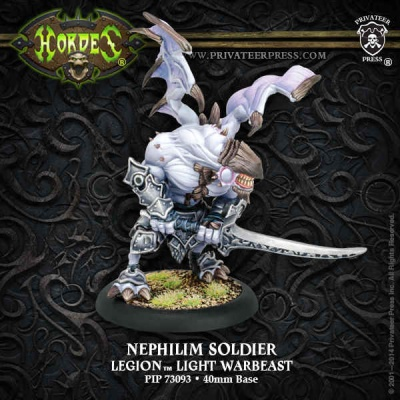 Legion Nephilim Soldier Light Warbeast (plastic)
