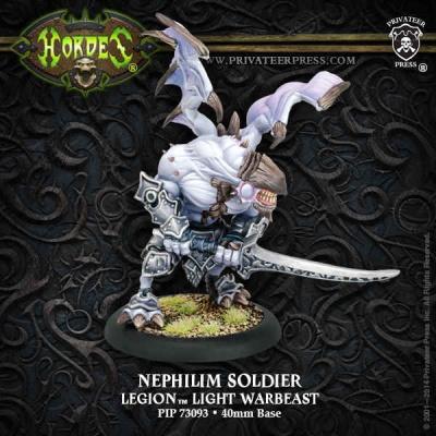 Legion Nephilim Soldier Light Warbeast (plastic)