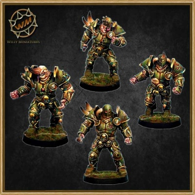 Lord Of Corruption - Warriors Pack (4)