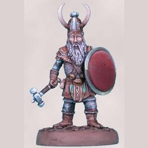 The Big Stash - Dwarven Fighter with Warhammer