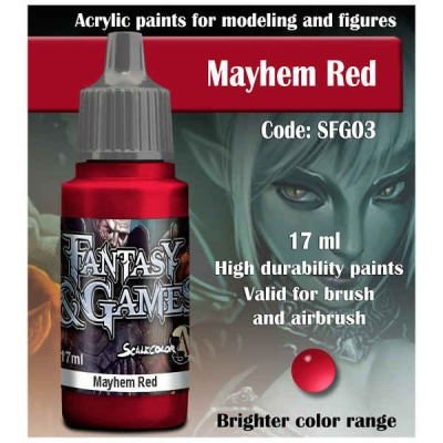 Scalecolor Fantasy 03 Mayhem Red (17ml)