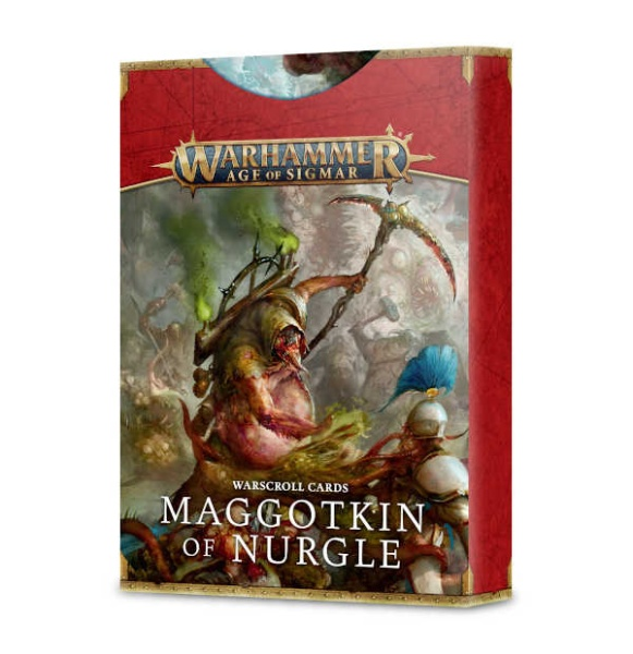 Warscroll-Karten: Maggotkin of Nurgle