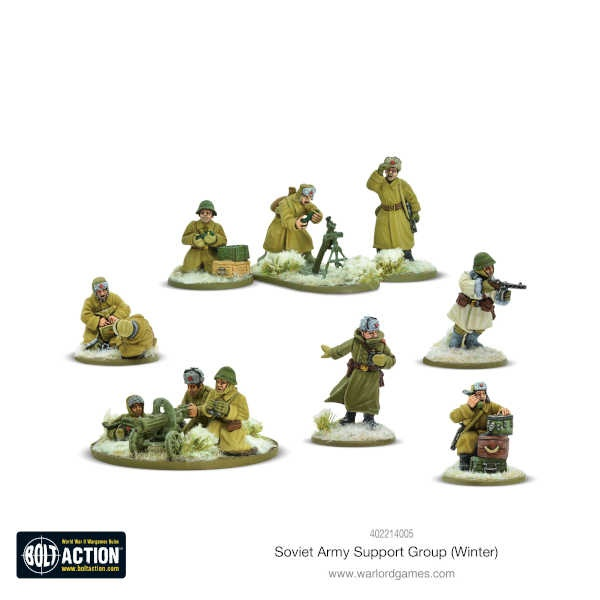 Soviet Army Winter Support Group (HQ, Mortar & MMG)