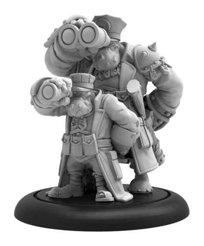 Trollkin Gunnery Sergeant - HORDES Trollblood Solo