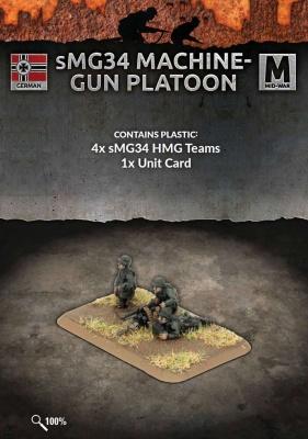 sMG34 Machine-gun Platoon (Plastic)
