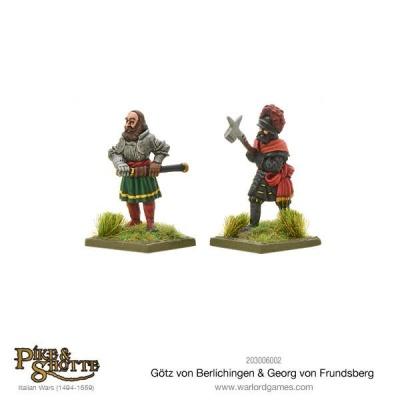Götz Von Berlichingen & Georg Von Frundsberg