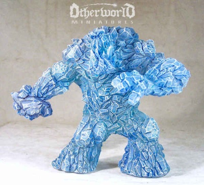 Huge Ice Elemental (Transparent)