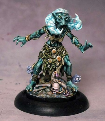 Ol`Ginny Greenteeth - the Sea Hag