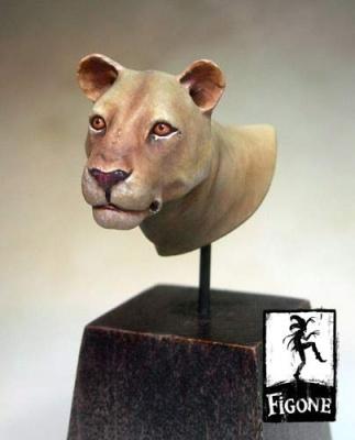Buste de Lionne
