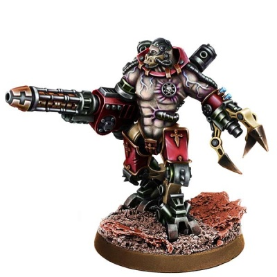 Mechanic Adept Kataton Battle Servitor w Gravi-Cannon