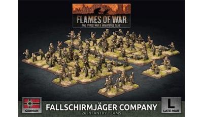 Fallschirmjager Company (Plastic)