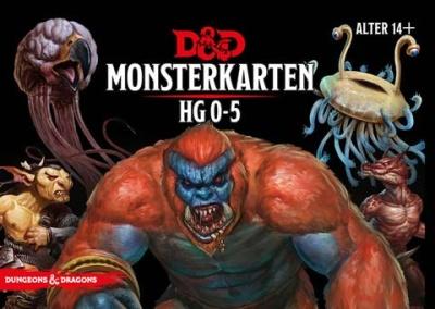 D&D: Monster Deck 0-5 (Deutsch)