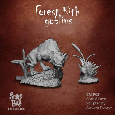 Forest Kith Goblins: Swamp Hyena and Ducky (1)
