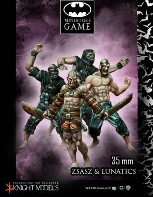 Victor Zsasz and Arkham Lunatics (4)