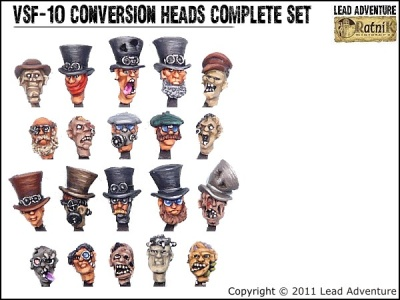 Conversion Heads Complete Set (20)