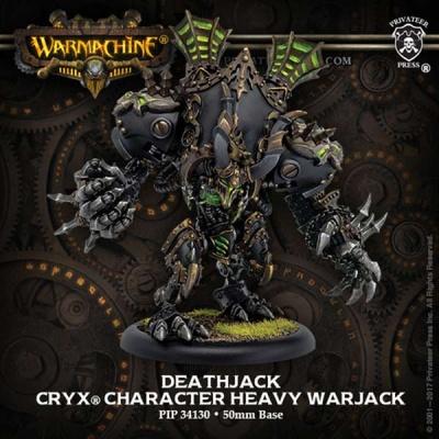Cryx Deathjack Heavy Warjack