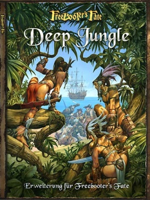 """Deep Jungle"" (Freebooters Fate) englisch"