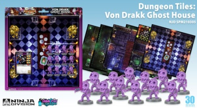 Super Dungeon Explore - Dungeon Tiles: Von Drakk Ghost House