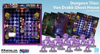 Super Dungeon Explore - Dungeon Tiles: Von Drakk Ghost House