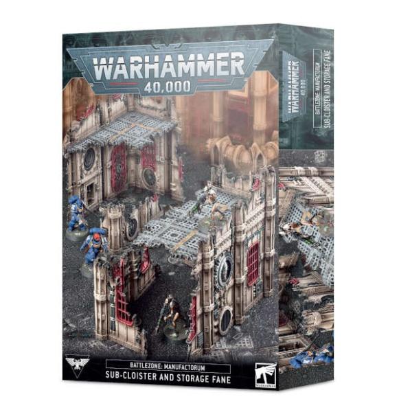 Battlezone: Manufactorum - Subkloster und Tempelspeicher