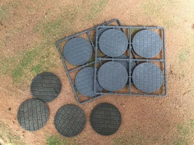60mm Paved Effect Bases (8)
