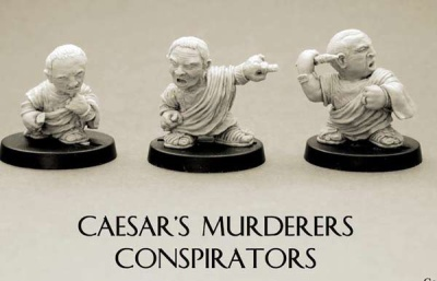 Famous People: Caesar's murderers Conspirators (3)