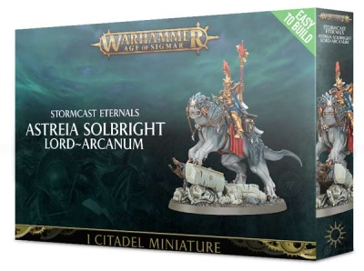 Stormcast Eternals Astreia Solbright: Lord-Arcanum