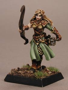 Lorielle, Female Elf Archer