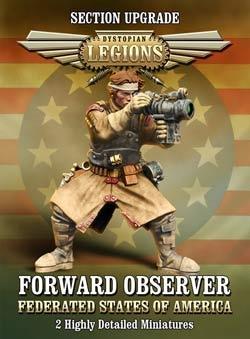 Dystopian Legions: FSA Forward Observer (2) (OOP)
