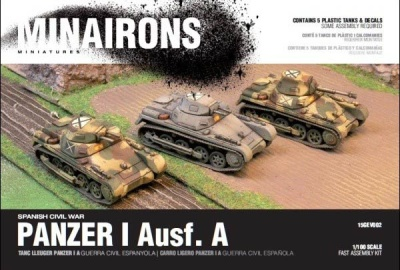 15mm Panzer I A - Boxed set (5)