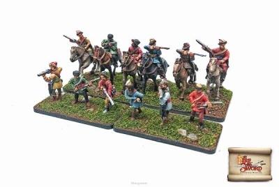 Mounted Szekely handgunners