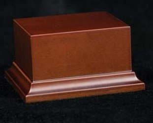 Wooden Base Brown, 80x70x50mm