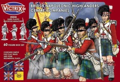 Napoleonic Highlander Centre Companies