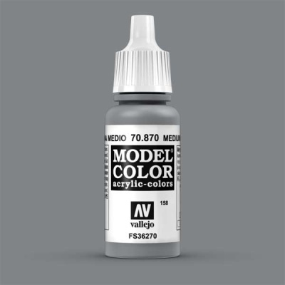 Model Color 158 Mittelgrau (Medium Sea Grey) (870)