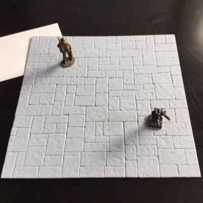 Grey Stone Floor Sheet