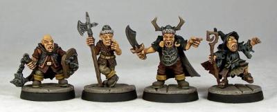 Goblin Warriors Command (4)