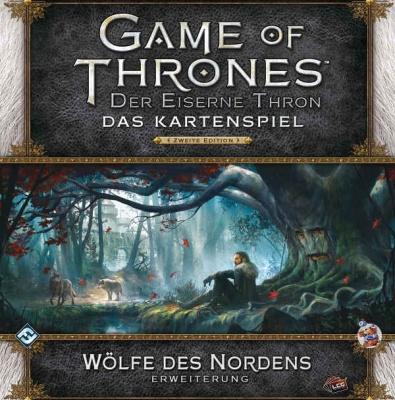 GoT Kartenspiel: Der Eiserne Thron - Wölfe des Nordens Erwei