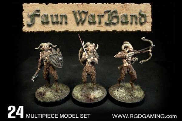 Faun Warband