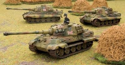 Koenigstiger platoon (dice & tokens included)
