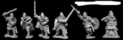 Viking Hirdmen with Hand Weapons (12)