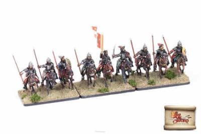 Zavoievodchicy/Boyars with spears