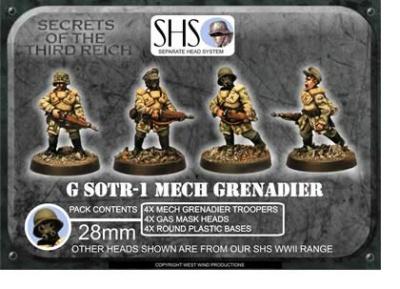 Mech Grenadiers GWHER 45 Auto Rifles (SHS)