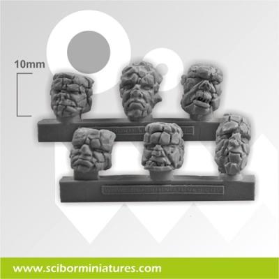 Stone Heads Basing Kit (6)